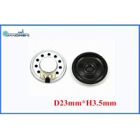 Buy 87DB Miniature Mylar Speaker 23mm Thin / 0.5w Micro Dynamic Speaker at wholesale prices