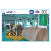 Quality Customized Paper Roll Handling Conveyor , Paper Reel Handling Equipment With Installations for sale