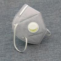 Quality Breathable Foldable FFP2 Mask Anti Dust 3ply / 4ply  Protective Face Mask for sale
