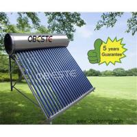 Buy stainless steel  non pressure solar water heater at wholesale prices