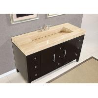 Buy Eased Edges Natural Marble SBath Vanity Tops With Cut Out Polished at wholesale prices