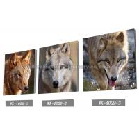 Buy Frameless PET 3d Lenticular Image / Animal 3d Lenticular Christmas Cards For Decoration at wholesale prices