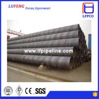 Quality spirally submerged arc welded steel tube for sale