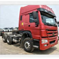 Quality Sinotruk Howo 6x4 371HP Tractor Trailer Truck Euro 2 Diesel Fuel Type for sale