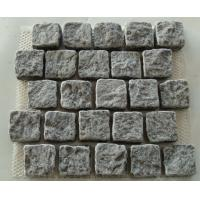 Quality Small Light Grey Granite Paving Stone, Granite Easy Pavers for sale