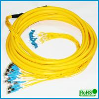 China CATV System Fiber Optic Patch Cables With PC / UPC / APC Connectors on sale