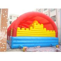 China Rent Inflatable Bouncy Castle For Jumping / Outdoor Inflatable Fun City on sale