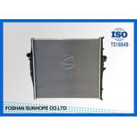 Quality Volvo Aluminium Auto Radiator MT , Silver 48mm Replacement Radiators For Cars for sale