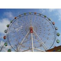 Quality Giant London Eye Ferris Wheel Customized LED Lights With Air Conditioner Cabin for sale