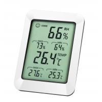 Buy cheap DHT820 LCD Display-10-50℃ Digital Max Min Indoor Hygrometer Thermometer Digital from wholesalers