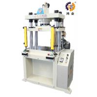80T 5.6kw Four Column Hydraulic Press Machine For Metal And Pastic Sheet