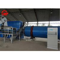 Quality Large Capacity Cassava Chips Drying Machine , Spent / Pig Hair Rotary Air Dryer for sale
