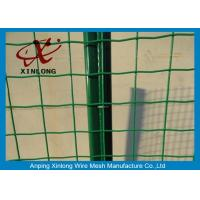 Quality PVC Coated Galvanized Welded Wire Mesh Rolls Anti Corrosion 10-30m Length for sale