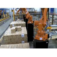 Quality Automatic Robot Palletizing System Machine , Robot Palletiser With ASI System for sale