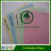 Quality Premium quality 3 ply NCR paper/carbonless paper with sheet and roll for sale