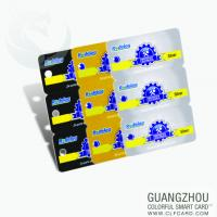 Quality Pvc small lovely design plastic card with  punch hole for sale