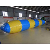 China Outdoor Inflatable Water Toys , Combination Inflatable Water Trampoline With Slide on sale