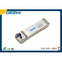 Quality 10G date rate SFP BIDI TX1270nm / RX1330nm 20km Simplex LC connector for sale