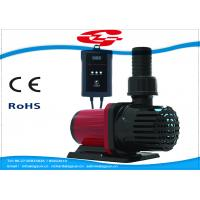 Quality 3000L/H high flow solar DC water pump with filter for Fountain and Aquarium for sale