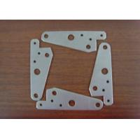 Quality sheet metal plate stamping / cutting for customized spring clip / bracket for sale