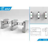 Quality Building Entrance Security Swing Gate Turnstile Automation Single Direction for sale
