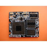 Quality 2 Oz Copper clad HDI Double Sided PCB 4 Layer with Black Solder Mask 0.35mm for sale