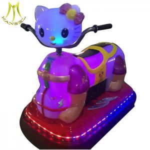 China Hansel  amusement rides kids ride on plastic bumper car remote control Guangzhou on sale