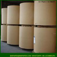 China Gift wrapping paper material natural white printing available paper mills on sale