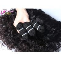 Quality Dropship Factory Supply Extension Peruvian Virgin Hair Sew In Weave Italian Curl for sale