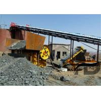 Buy cheap High Safe Stone Crushing Production Line Industrial Jaw Crusher Machine from wholesalers