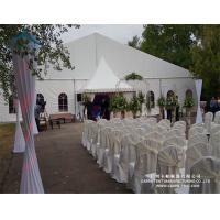 Quality Rainproof PVC Fabric Wedding Marquee Tent Max. Wind Load 80 ~ 100km/H for sale