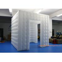 Buy cheap 2.5m RGB LED Light Wedding Party Use Inflatable Photobooth Tent from wholesalers
