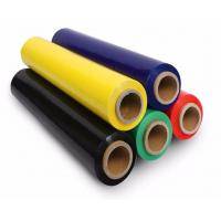 Quality 5 '' x 1000 ' x 80 G Colored Stretch Film 350 % Elongation Stretch Wrap for sale