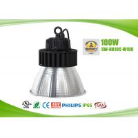 Quality IP65 145lm / W Energy Efficient High Bay Lighting Fixtures 100 Watt , 2700-6500K Color Temperature for sale