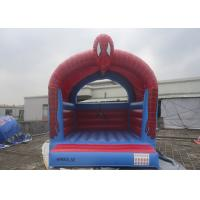 Buy Customize Inflatable Spiderman Jumping Castle / Spiderman Inflatable Bouncer For Kids at wholesale prices