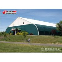 Quality Curve Clearspan 15 X 20 Frame Tent , Sporting Event Tents For Tennis Fireproof for sale