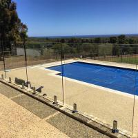 Buy cheap Swimming Pool Tempered glass balustrades with stainless steel spigots from wholesalers
