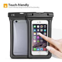 Quality Fully Submersible Waterproof Smartphone Case , Small Waterproof Bag With Air - Filled Frame for sale