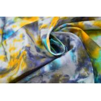 Quality Tie - Dye  Waxed Cotton Canvas / 8OZ Woven Cotton Fabric For Bags for sale