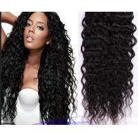 Quality No Shedding Virgin Brazilian Hair Extensions Black Body Wavy Hair Weave for sale