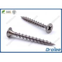 Buy Passivated 410 Stainless Steel Bugle Head Coarse Thread Drywall Screws at wholesale prices