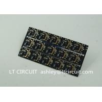 Quality Gold Plating Custom Pcb Manufacturing Black Soldering With IC Lead BGA for sale