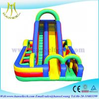 Quality Hansel outside playground equipment,obstacle sport game indoor and outdoor for sale