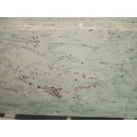 Quality Bathroom White And Grey Quartz Countertops , Pre Made Bathroom Vanity Tops Slab for sale