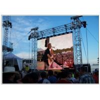 Quality LED Outdoor Screen Hire for Stage , Commercial P10 P16 P8 Rent Video Wall Displays for sale
