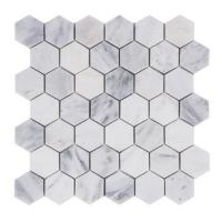 Quality premium colorful Hexagon Stone Mosaic Tile For Bathroom Remodeling for sale