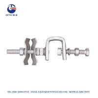 Quality DLC 13mm Tower Pole Line Hardware Down Lead Clamp for sale