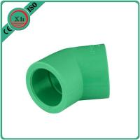 Quality Frost Proof PPR Pipe Elbow , 45 Degree Pipe Elbow Superior Dimensional Accuracy for sale