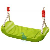 Quality Small Kids Outdoor Playsets , Plastic Swing Seat with Four Holes for sale