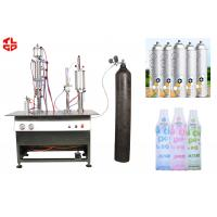 Quality Semi Automatic Oxygen Gas Spray Filling Machine for sale